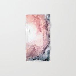 Blush and Blue Dream 1: Original painting Hand & Bath Towel