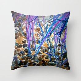 Nature Remixed Throw Pillow