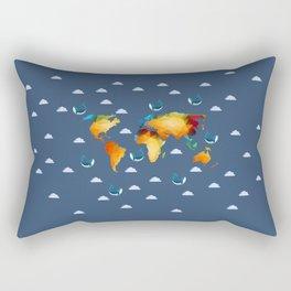 World of Whales Rectangular Pillow