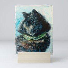 Beautiful Schipperke Mini Art Print