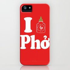 I Heart Pho iPhone (5, 5s) Slim Case