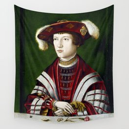 Portrait of a Nobleman Wall Tapestry