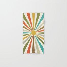 Sun Retro Art IV Hand & Bath Towel