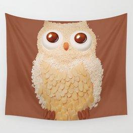 Owlmond 1 Wall Tapestry