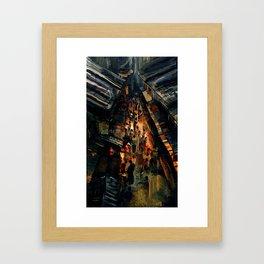 Pyesta: The Night Feast Framed Art Print