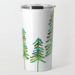 Pine Trees – Green Palette Travel Mug