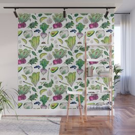 Superfood Pattern Wall Mural