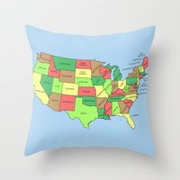 This Land Isn't Your Land Throw Pillow