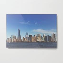 Manhattan Skyline Metal Print