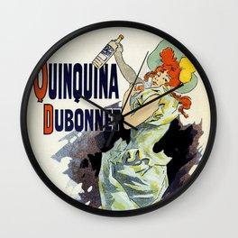 Apéritif Quinquina Dubonnet Wall Clock