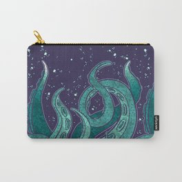 Giant Tentacle Blue Redux Carry-All Pouch