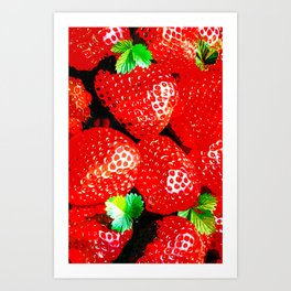 STRAWBERRY for IPhone Art Print