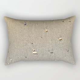 Stones on the Sand Rectangular Pillow