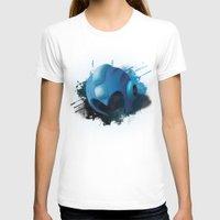 mega man T-shirts featuring Mega Man by Head Glitch