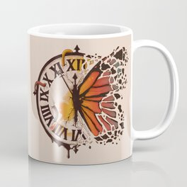 A Ruptured Time Coffee Mug