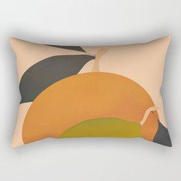 An Orange and a Lemon Rectangular Pillow