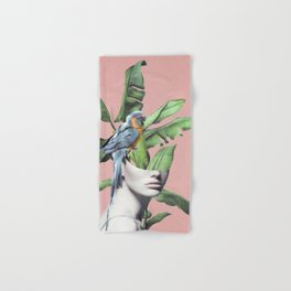 Tropical Girl  2 Hand & Bath Towel