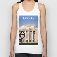 theatre Tank Tops featuring BERLIN OST - VOLKSBÜHNE - Theatre by CAPTAINSILVA