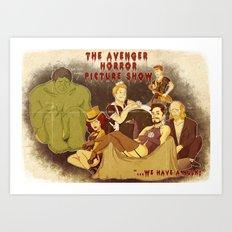 The Avenger Horror Picture Show Art Print