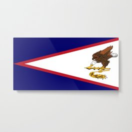 Flag of American Samoa Metal Print
