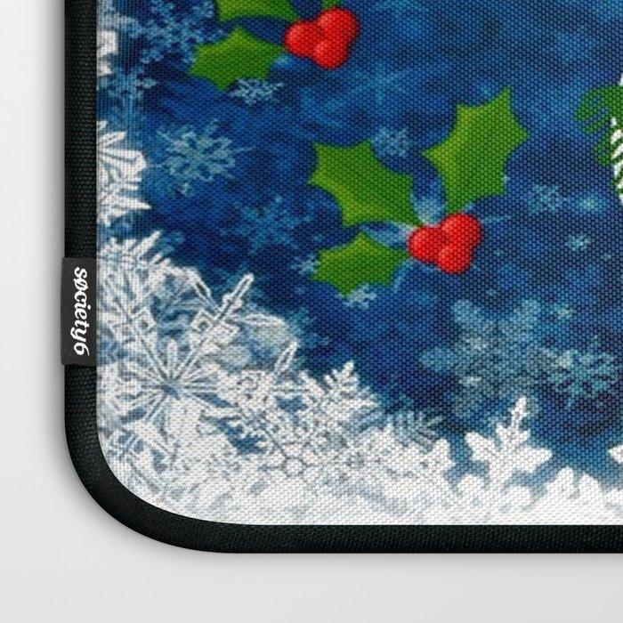 Snowman - Happy Holidays Laptop Sleeve