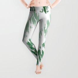 Grass Crystal Zig Zag Leggings