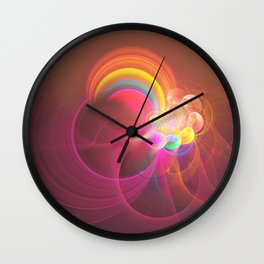 Ascension At Mount Of Olives Wall Clock