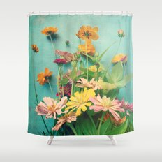 I Carry You With Me Into the World Shower Curtain