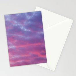 Cloudy Sunset Stationery Cards