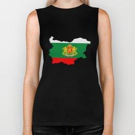 Bulgarian map Biker Tank