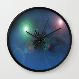 Bugs in outer space.... Wall Clock