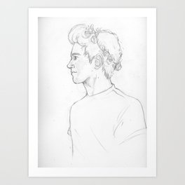 Sketch-Niall Art Print