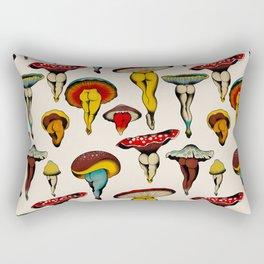 Sexy mushrooms Rectangular Pillow