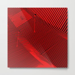 Architecture abstract design Metal Print