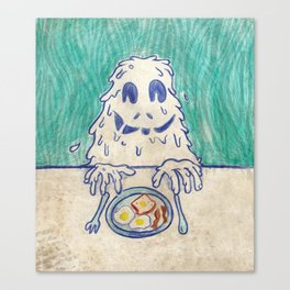 Breafast Slime Canvas Print