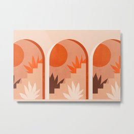 Abstraction_SUN_Bohemian_ARCHITECTURE_001AA Metal Print
