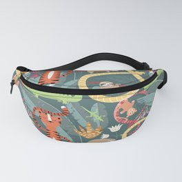Rain forest animals 003 Fanny Pack
