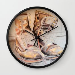 More Work to Do Wall Clock