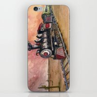 southwest iPhone & iPod Skins featuring Southwest Journey by Jeff Moser Watercolorist
