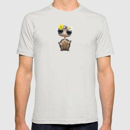 Cute Baby Turtle Hippie T-shirt