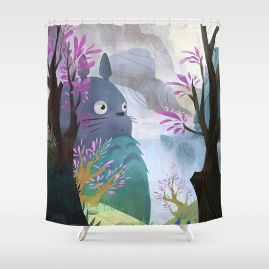 totoro shower curtainyoucoucou | society6