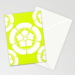 Samurai-Oda family Crest version2 Stationery Cards