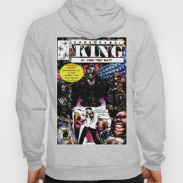 """Code Name: King""  - Comic Book Promo Poster  Hoody"