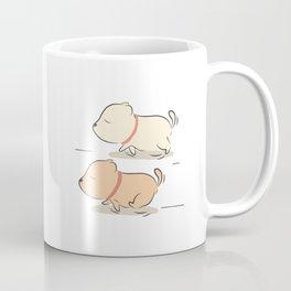 rocky running Coffee Mug
