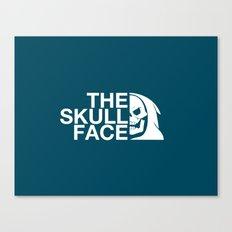 The Skull Face Canvas Print