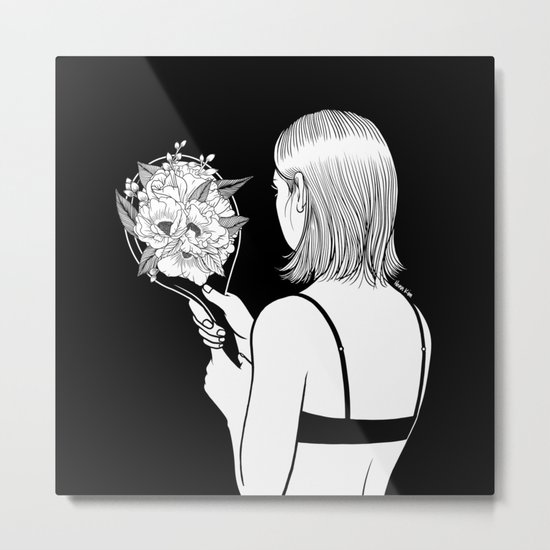 Fall in love with myself first Metal Print