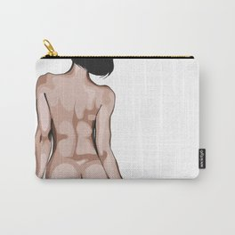 Behind a girl Carry-All Pouch