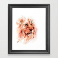 Kiburi ... Lion Framed Art Print