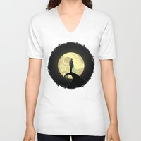 nightmare before christmas V-neck T-shirts featuring Luke's Nightmare Before by kamonkey