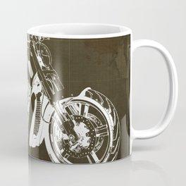 2011 HD VRSCF V-Rod Muscle marron blueprint Coffee Mug